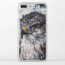 Harris Hawk Clear iPhone Case