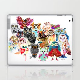 OWLS COLLAGE Laptop & iPad Skin