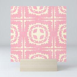 sayulita, pink Mini Art Print