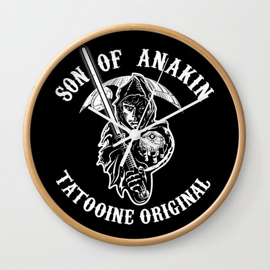 Son of Anakin Wall Clock