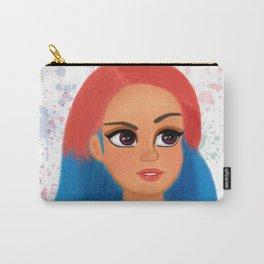 Rainbow Hair Carry-All Pouch