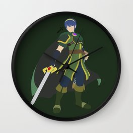 Marth(Smash)Green Wall Clock