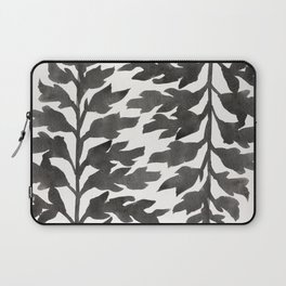 Black Fern Laptop Sleeve