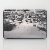 ski iPad Cases featuring Ski town by snowboardobsessed350