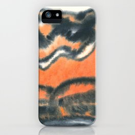 ashes and sand iPhone Case