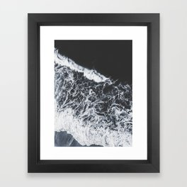 sea lace Framed Art Print
