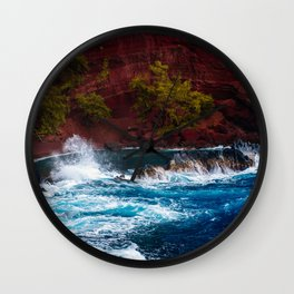 vibrant nature Wall Clock