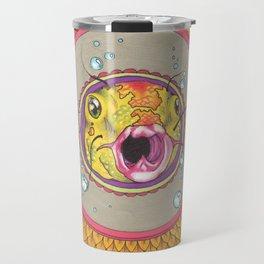 Fishy Mandala Travel Mug