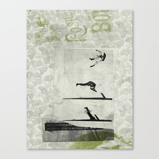 Old Smoke Canvas Print