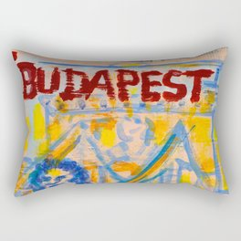 European Capital - Budapest Rectangular Pillow