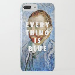 Vincent van Gogh, Self portrait (1889) / Halsey, Colors (2015) iPhone Case
