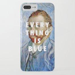 Vincent van Gogh, Self portrait (1889) / Halsey, Colors (2015) iPhone Case