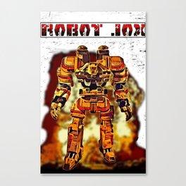 Robot Jox Canvas Print