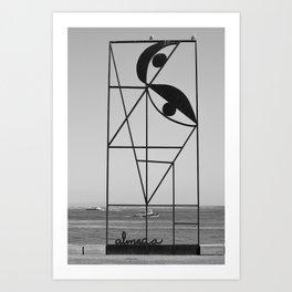 Almada Art Print