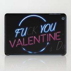 FU**YOU VALENTINE'S DAY iPad Case