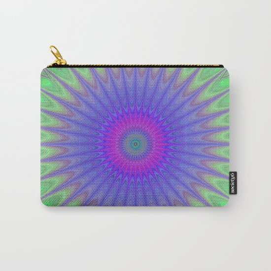 Cold mandala Carry-All Pouch