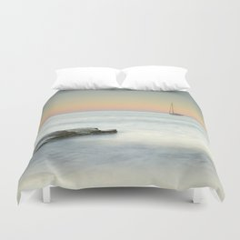 Zen time.... Duvet Cover