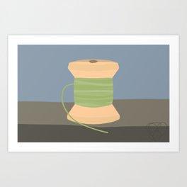 Cool Spool Art Print