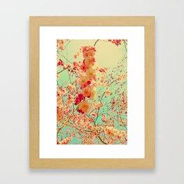 Happy Spring Crossing Framed Art Print