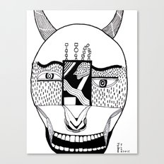 The Devil and His Door Canvas Print