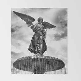 ANGEL OF THE WATERS Throw Blanket