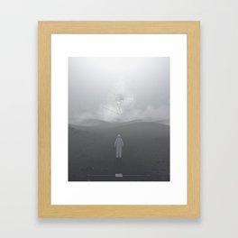 Lost Astronaut Series #04 - Icosa/Bucky Framed Art Print