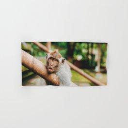 Cute Monkey (Color) Hand & Bath Towel