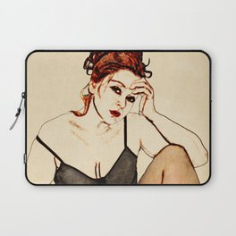 In the Style of...Egon Schiele Laptop Sleeve