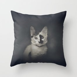Lucifer Sam Throw Pillow