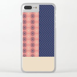 AFE Geometric Abstract Clear iPhone Case