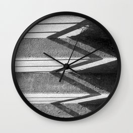 Afternoon Stairs  Wall Clock
