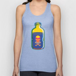 psychedelic poison bottle Unisex Tank Top