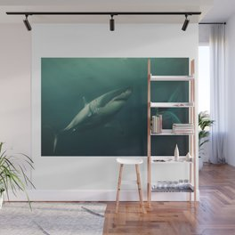 Shark Lady Beauty Underwater Queen of the Sea Wall Mural