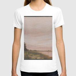 Christen Købke - View of the Bay near the Copenhagen Limekiln Looking North A Quiet Summer Afternoon T-shirt
