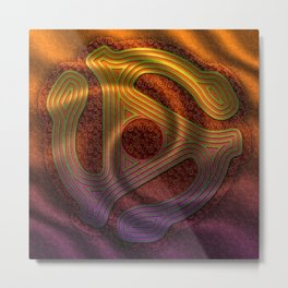 Let The Music Play Metal Print