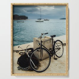 Vintage bicycle Serving Tray