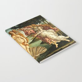 Sandro Botticelli The Birth Of Venus Notebook