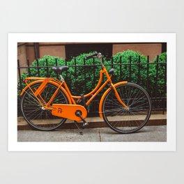 Brooklyn Heights Ride Art Print