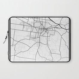 Ballarat Light City Map Laptop Sleeve