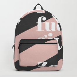 Zero F*** Given Backpack