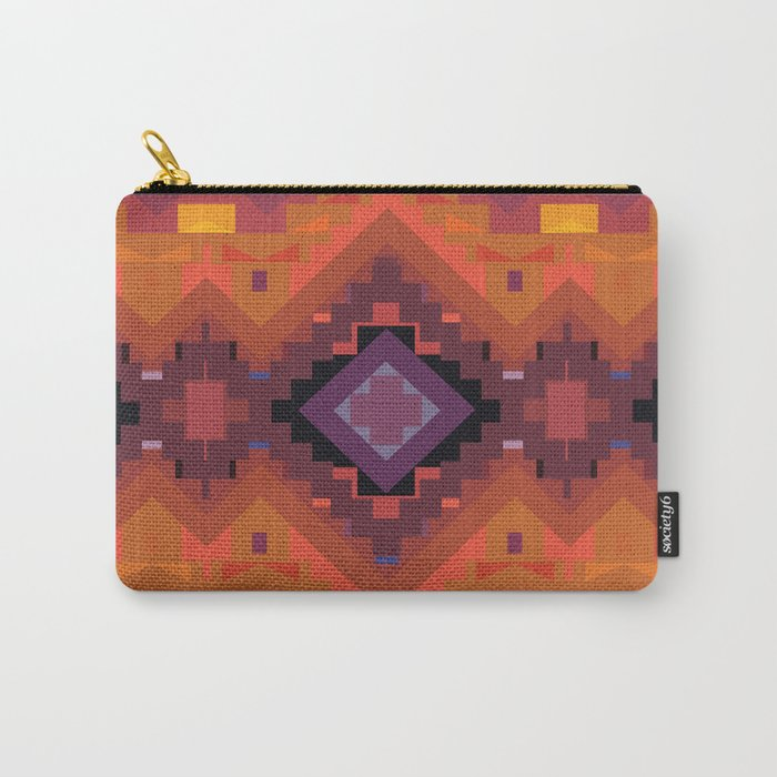 American Native Pattern No. 35 Carry-All Pouch