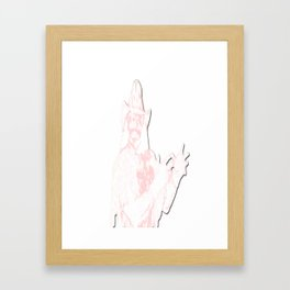 MACHOLIFE Framed Art Print