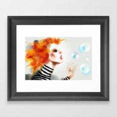 Pin Framed Art Print