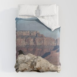 Lost in Grand Canyon Comforters