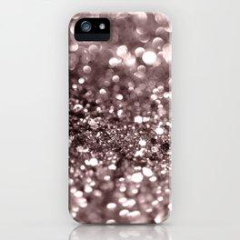 Sparkling Mauve Lady Glitter #2 #shiny #decor #art #society6 iPhone Case