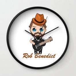 Rob Benedict - Louden Swain Wall Clock