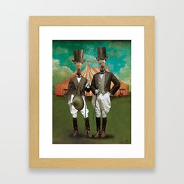 Circus-Circus :: The Twins Framed Art Print