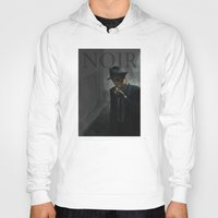 noir Hoodies featuring Noir by Abel Fdez
