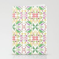vegetables Stationery Cards featuring Vegetables by Amy Pearson