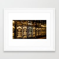 whiskey Framed Art Prints featuring Whiskey by Bould Media